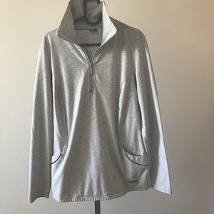 Roots Active Size Large Grey Long Sleeve S…
